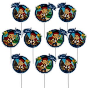Jake and the Never Land Pirates Cupcake Picks 24ct