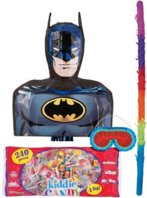 Pull String Batman Pinata Kit