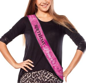 Birthday Princess Sash