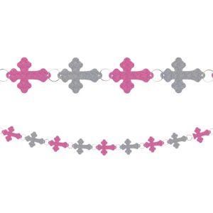 Pink Communion Ring Garland