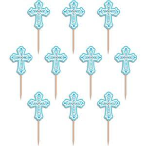 Blue Communion Party Picks 36ct