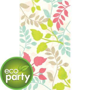 Eco-Friendly Lush Leaf Guest Towels 16ct