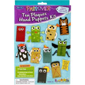 Passover 10 Plagues Hand Puppet Craft Kit
