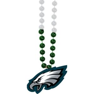Philadelphia Eagles Pendant Bead Necklace