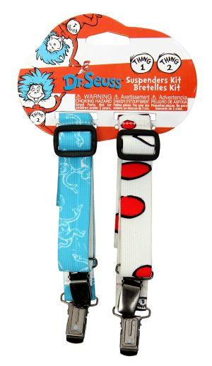 Dr. Seuss Thing 1 & Thing 2 Suspenders
