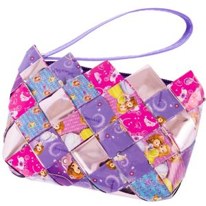 Sofia the First Candy Wrapper Wristlet