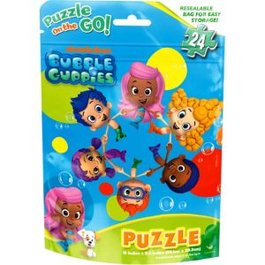 Bubble Guppies Puzzle Bag 24pc
