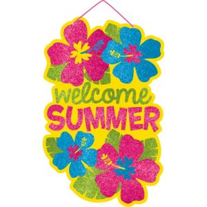 Glitter Welcome Summer Sign
