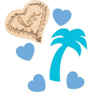 Beach Love Wedding Confetti