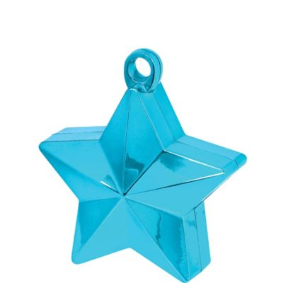 Caribbean Blue Star Balloon Weight