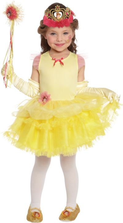 Girls Tutu Belle Costume