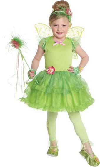 Girls Tutu Tinker Bell Costume