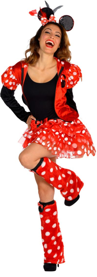 Adult Dancing Minnie Mouse Costume