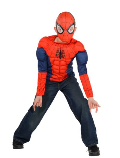 Boys Spider-Man Muscle Costume