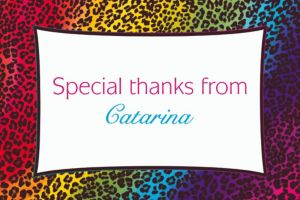 Custom Wild Leopard Thank You Notes
