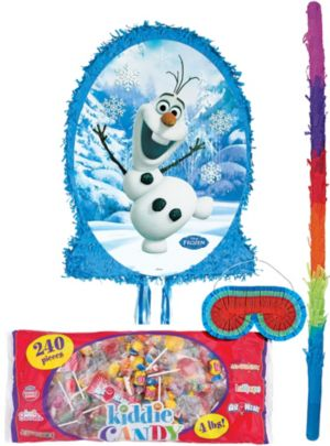 Pull String Olaf Pinata Kit - Frozen