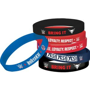 WWE Wristbands 4ct