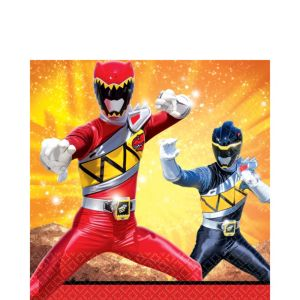 Power Rangers Lunch Napkins 16ct