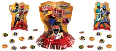 Power Rangers Table Decorating Kit 23pc
