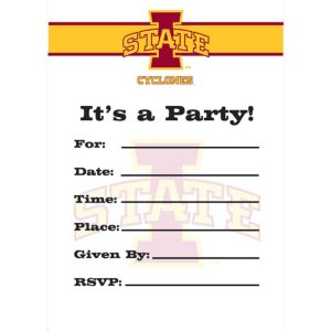 Iowa State Cyclones Invitations 8ct
