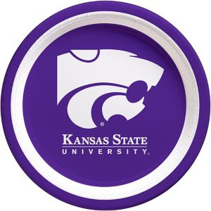 Kansas State Wildcats Lunch Plates 10ct