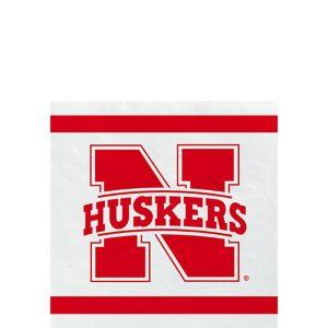 Nebraska Cornhuskers Beverage Napkins 24ct