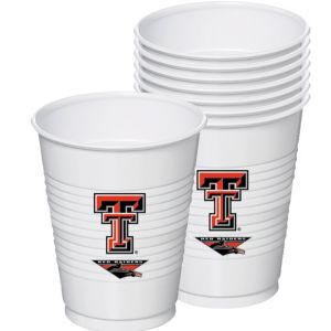 Texas Tech Red Raiders Plastic Cups 8ct