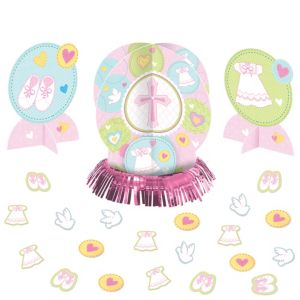 Pink Sweet Religious Table Decorating Kit 23pc