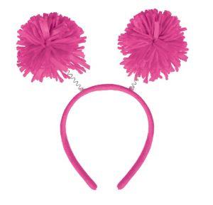Pink Pom-Pom Head Bopper