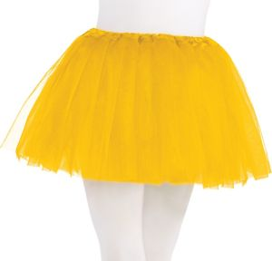 Child Yellow Tutu
