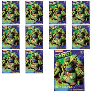 Teenage Mutant Ninja Turtles Coloring Books 12ct