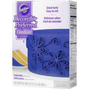 Purple Rolled Fondant