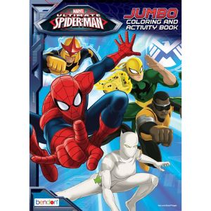 Spider-Man Coloring & Activity Book