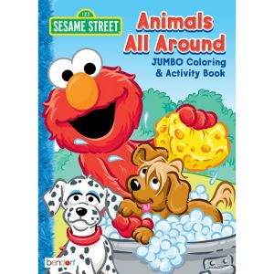 Sesame Street Coloring & Activity Book