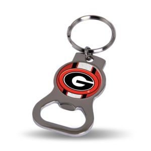 Georgia Bulldogs Bottle Opener Keychain