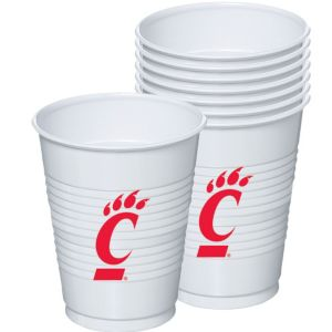 Cincinnati Bearcats Plastic Cups 8ct