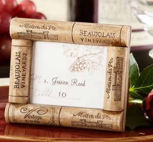 Wine Cork Photo Frame Place Card Holder