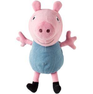 Clip-On George Pig Plush - Peppa Pig