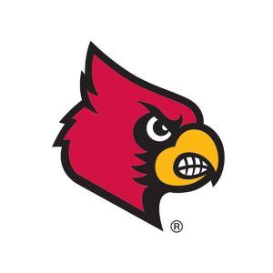 Louisville Cardinals #1 Fan Decal