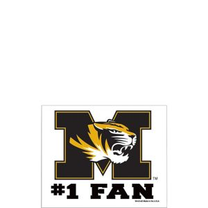 Missouri Tigers #1 Fan Decal