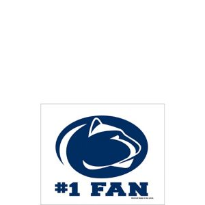 Penn State Nittany Lions #1 Fan Decal