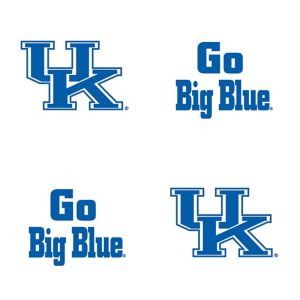 Kentucky Wildcats Face Tattoos 4ct