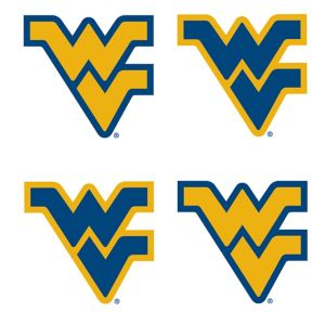 West Virginia Mountaineers Face Tattoos 4ct