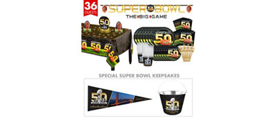 Super Bowl 50 Ultimate Collector's Kit