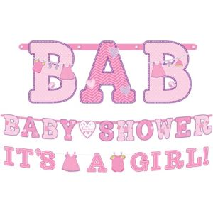It's a Girl Baby Shower Banners 2ct