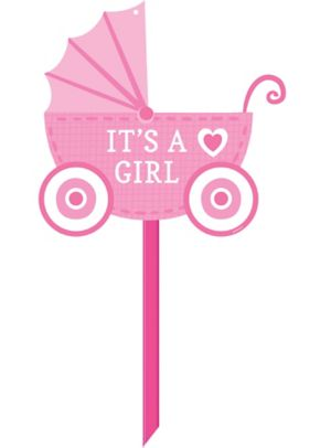 It's A Girl Baby Shower Yard Sign