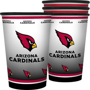 Arizona Cardinals Tumblers 4ct
