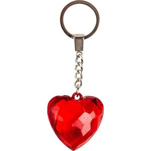 Red Heart Keychain