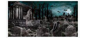 Giant Cemetery Banner