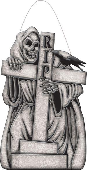 Hanging Reaper Sign